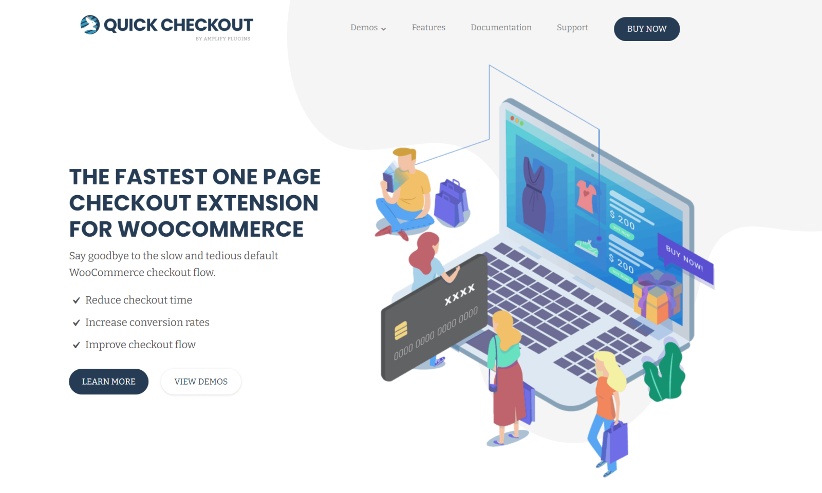 The Quick Checkout plugin is the fastest way to get your WooCommerce customer to the checkout.