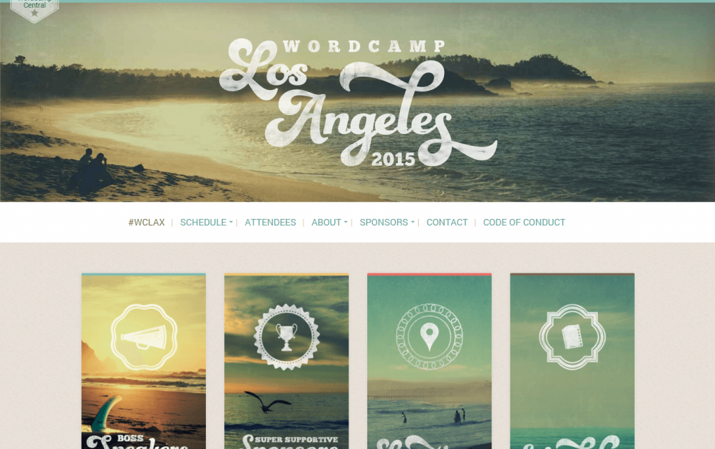 WordCamp LA 2015 Website
