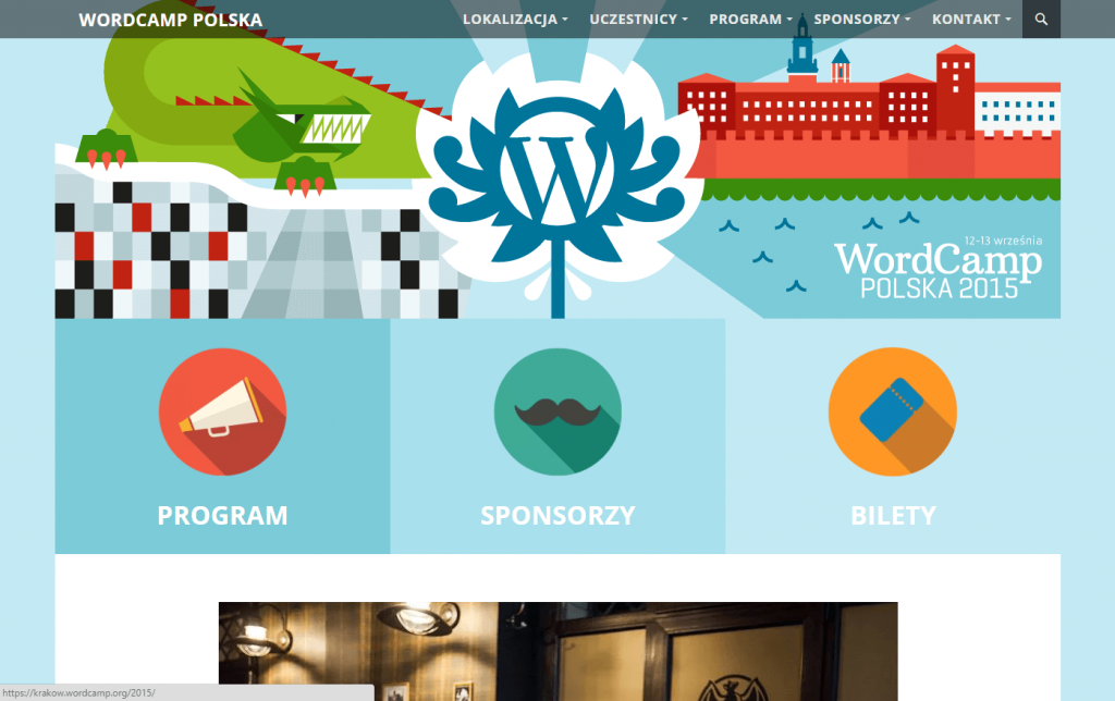 WordCamp Polska 2015 Website
