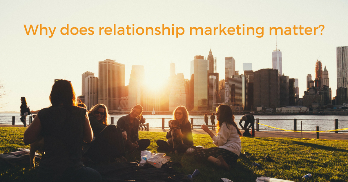 Why does relationship marketing on Twitter matter?