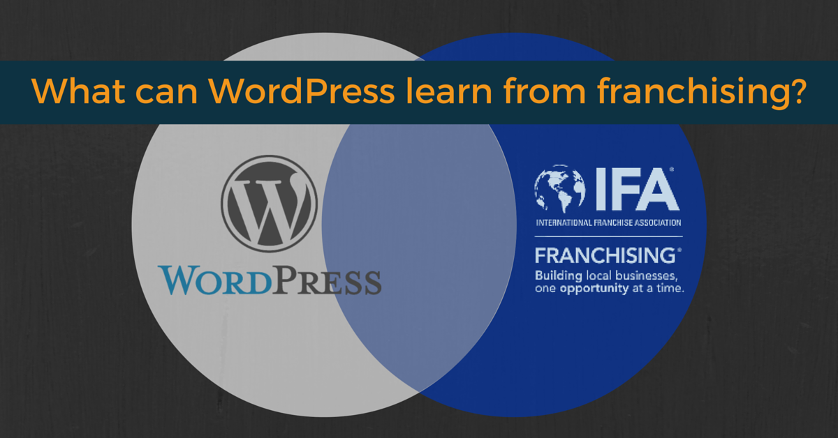 At first glance Franchising and WordPress seem to be in two different worlds. They have more overlap that you'd first think.