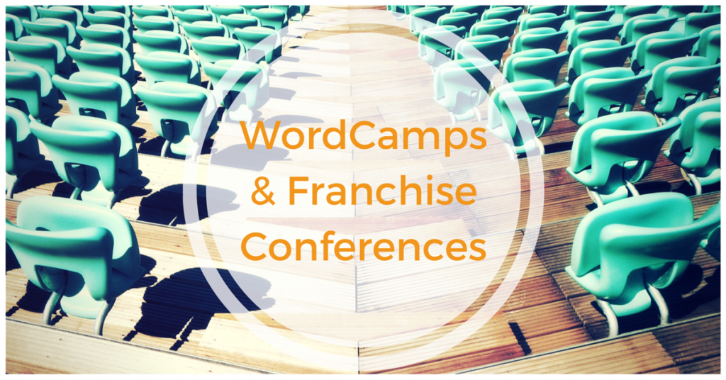 I had the fortune to recently attend both WordCamp San Diego and a very prominent Franchisor Conference. And what gets me excited is how both events can teach each other new approaches and ways to think.