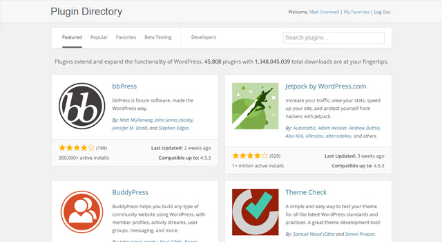 The New WordPress Plugin Directory and Why It Matters