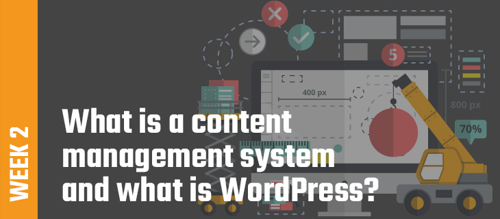 Week 2: What is a content management system and what is WordPress?