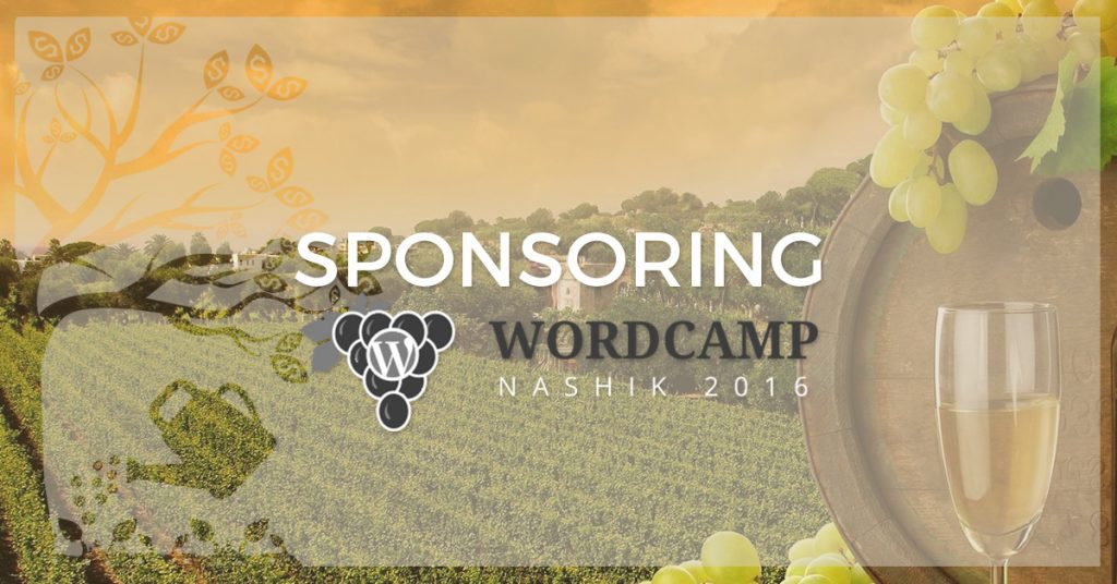 Why we're sponsoring WordCamp Nashik