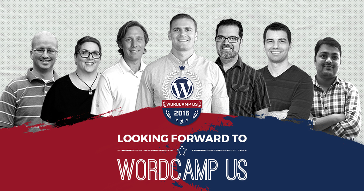 We're excited that all six of our full-time, US-based employees will attend WordCamp US this year. We cannot wait to meet our new customers, learn new things, and of course, take selfies.