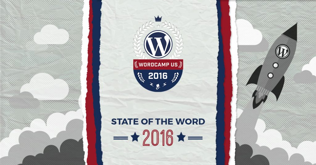 Matt Mullenweg co-founder of WordPress and CEO at Automattic, gave his annual State of the Word presentation at the end of WordCamp US. Here's our take.