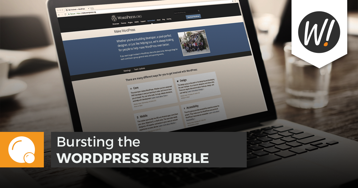 As WordPress modernizes in an increasingly competitive landscape, its community is taking new initiatives that challenge the notion of a WordPress bubble.