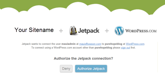Jetpack Authorization